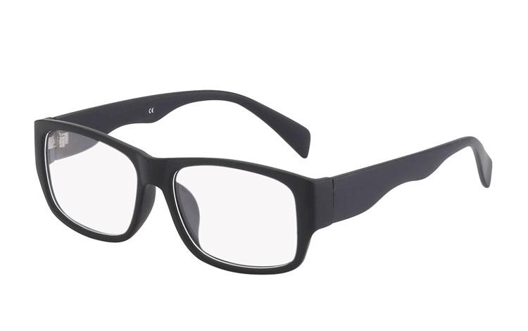 c5e4d9690546 Mat sort brille uden styrke - Design nr. 3020
